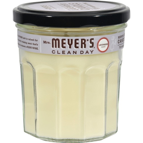 Picture of Case of 6- Mrs. Meyer's Soy Candle - Lavender -7.2 oz Candles