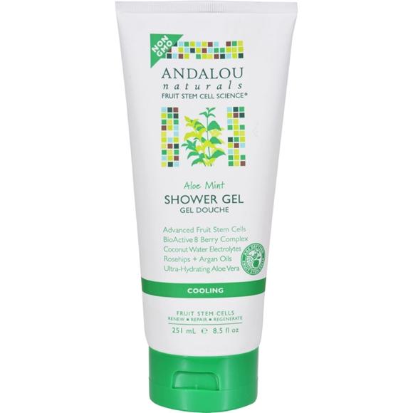 Picture of Andalou Naturals Shower Gel - Aloe Mint Cooling - 8.5 fl oz