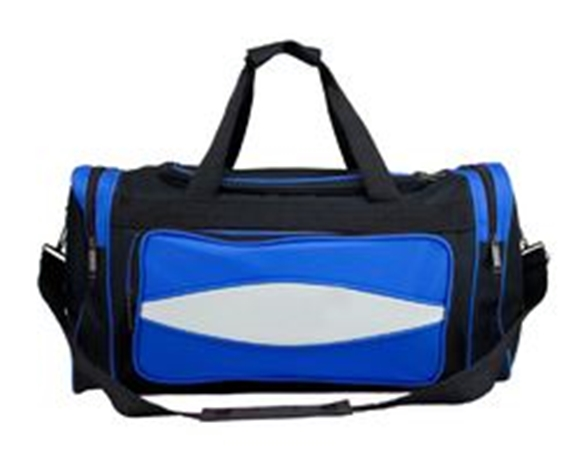 Picture of 20 Inch Blue 600HD Tuff Cloth Canvas Duffel Bag
