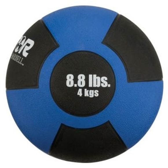 Picture of Champion Barbell Rubber Medicine Ball - 8.8lbs