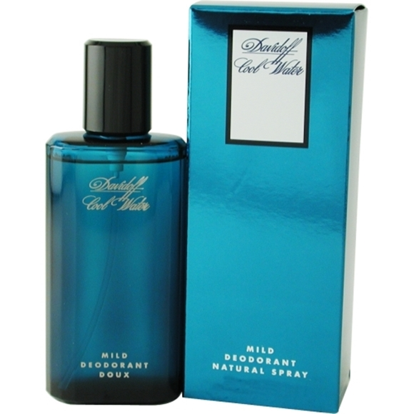 Picture of COOL WATER by Davidoff DEODORANT MILD SPRAY 2.5 OZ